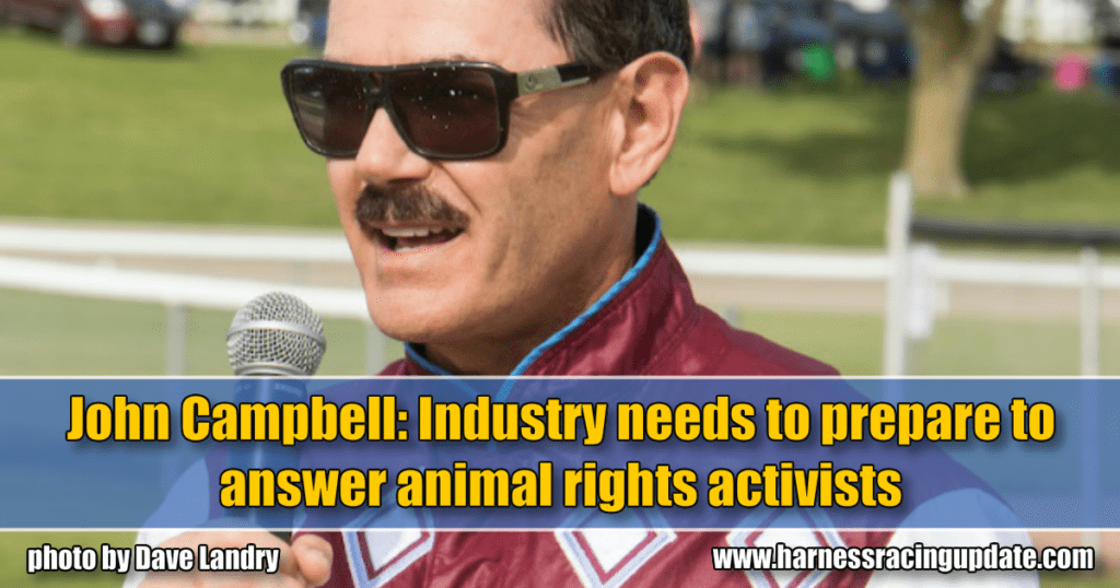 John Campbell: Industry needs to prepare to answer animal rights activists