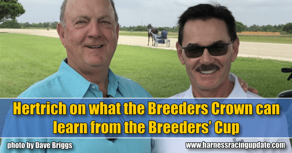 Hertrich on what the Breeders Crown can learn from the Breeders' Cup