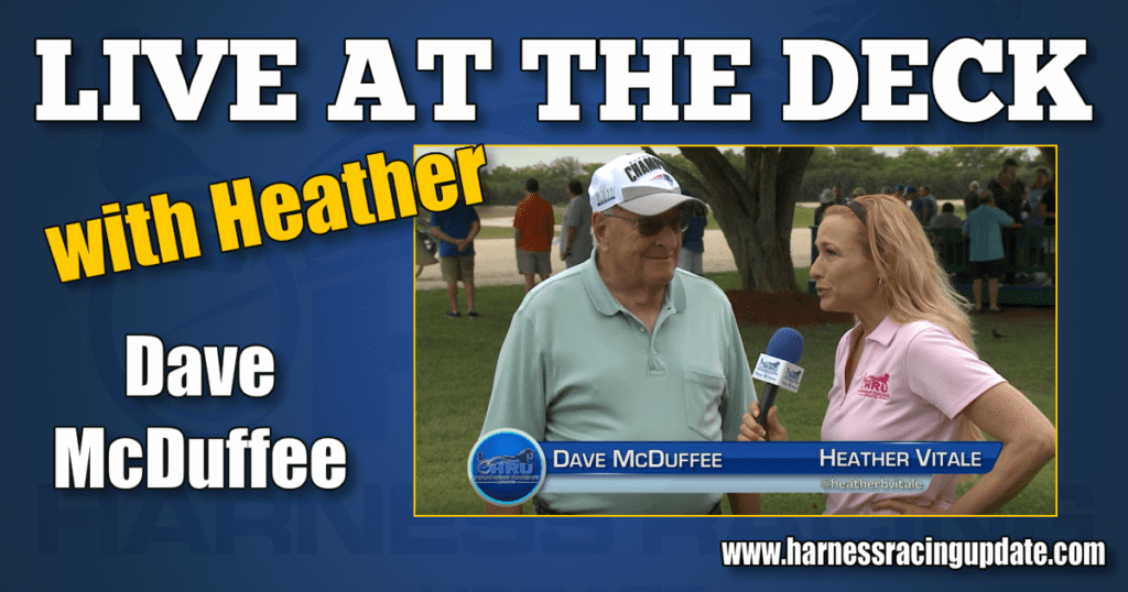 Dave McDuffee interviewed Live at The Deck