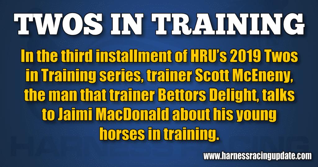 Twos in Training: Scott McEneny