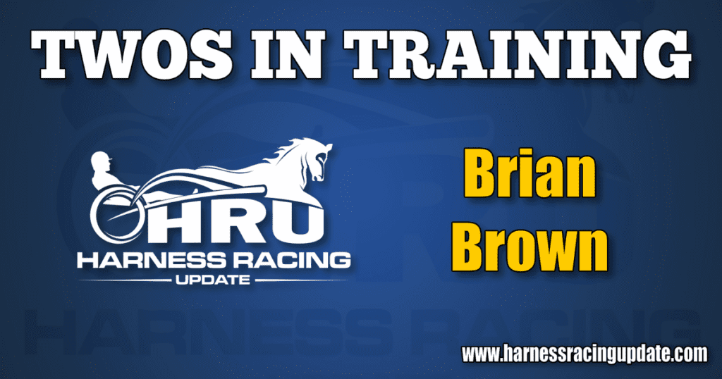 Brian Brown in the HRU Twos in Training spotlight