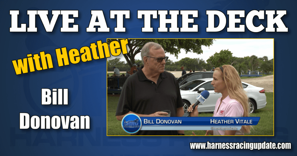 Bill Donovan interviewed Live at The Deck