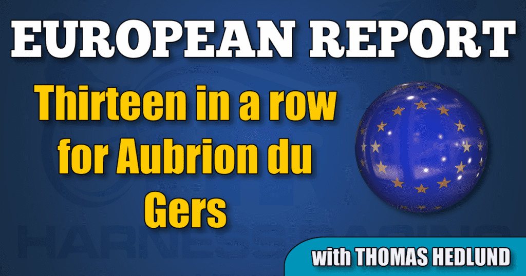 Thirteen in a row for Aubrion du Gers
