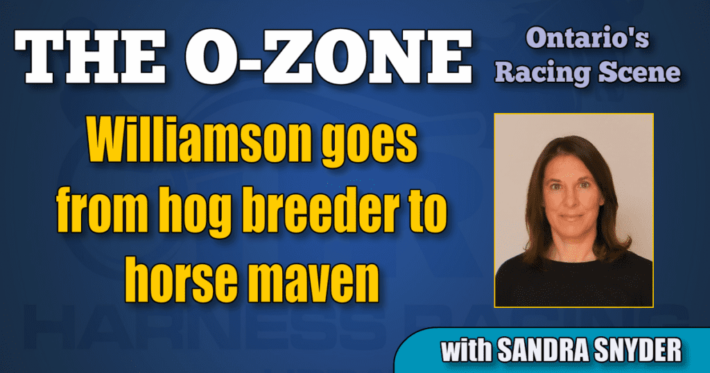 Williamson goes from hog breeder to horse maven