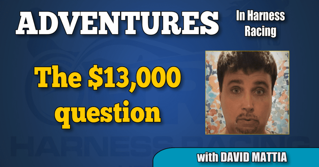 The $13,000 question