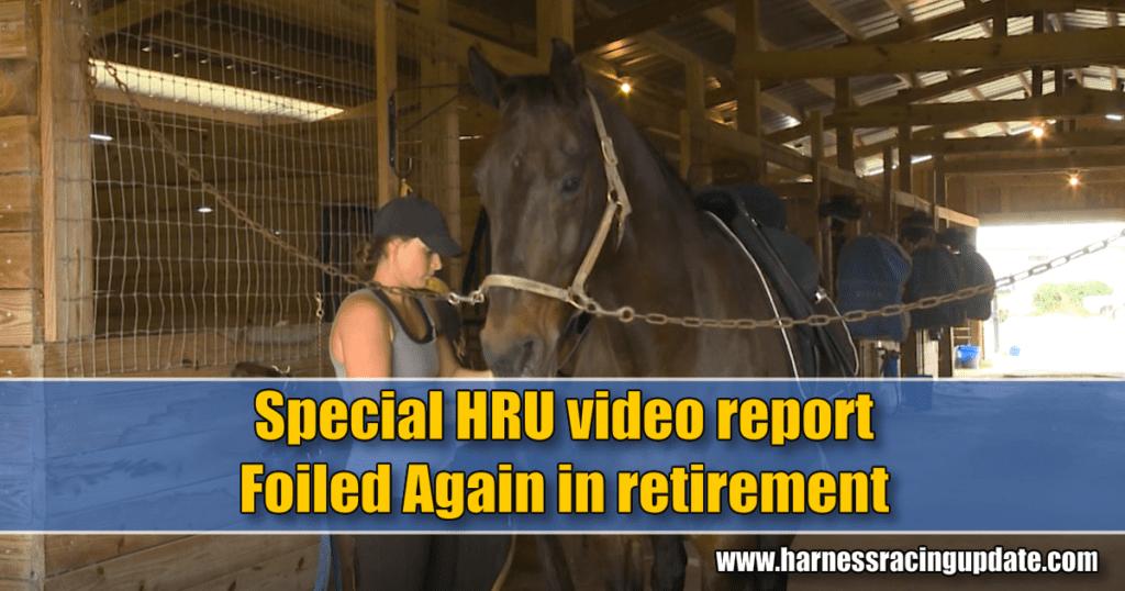 Special HRU video report – Foiled Again in retirement