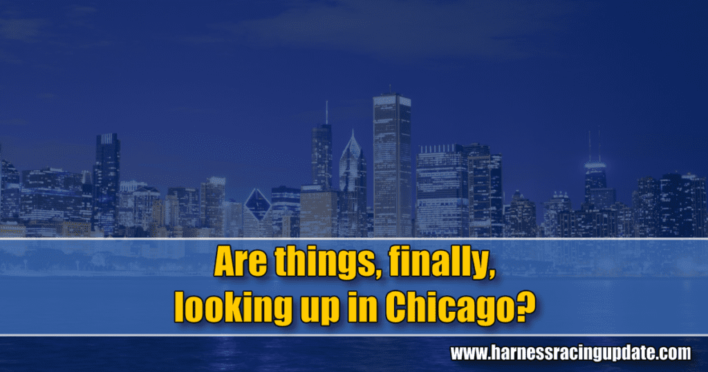 Are things, finally, looking up in Chicago?