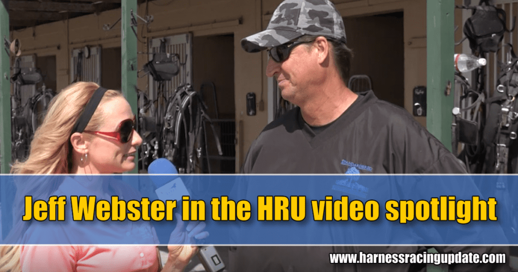 Jeff Webster in the HRU video spotlight