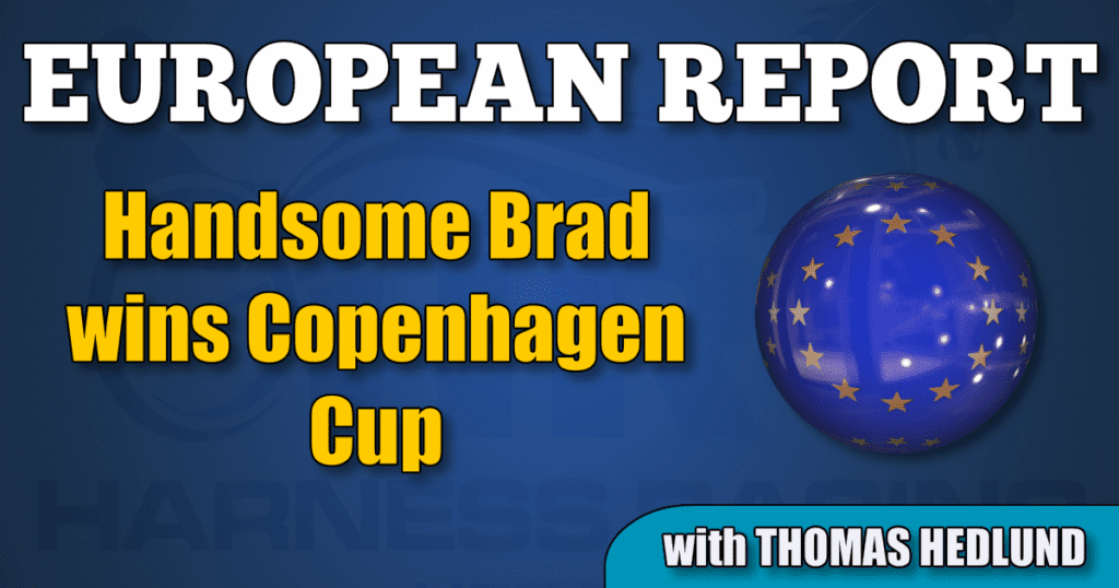 Handsome Brad wins Copenhagen Cup
