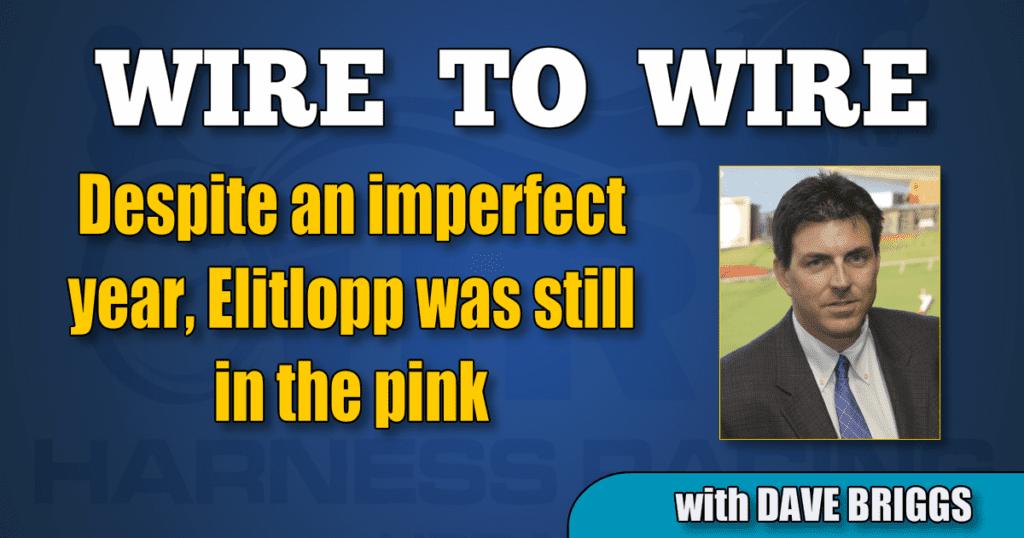 Despite an imperfect year, Elitlopp was still in the pink