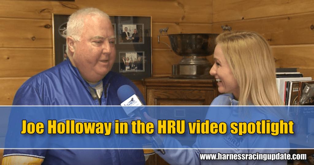 Joe Holloway in the HRU video spotlight