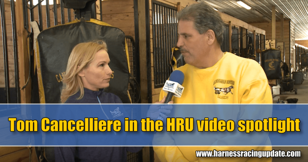 Tom Cancelliere in the HRU video spotlight