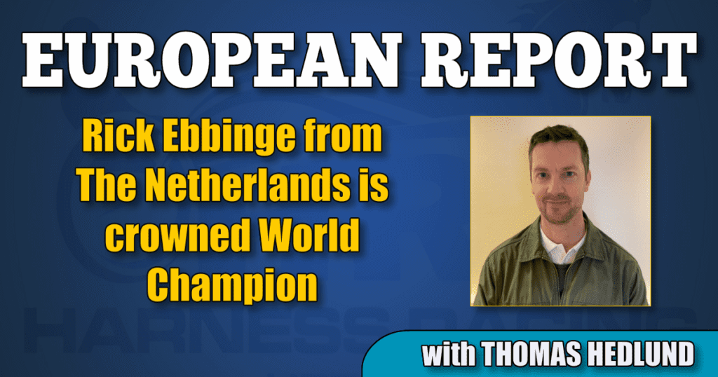 Rick Ebbinge from The Netherlands is crowned World Champion
