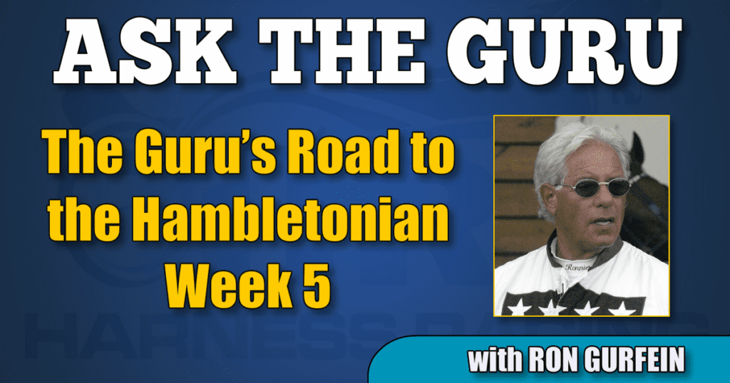 The Guru's Road to the Hambletonian - Week 5