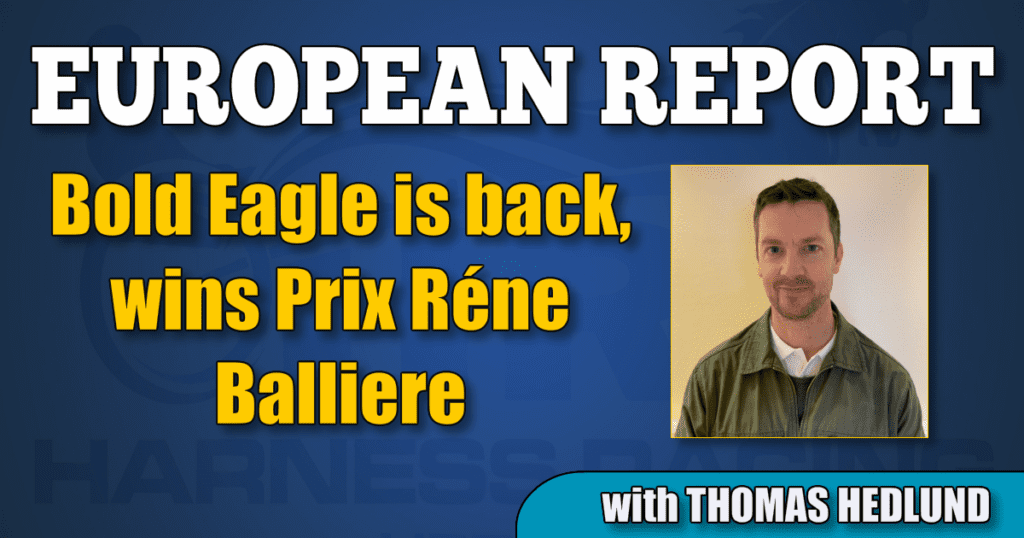 Bold Eagle is back, wins Prix Réne Balliere