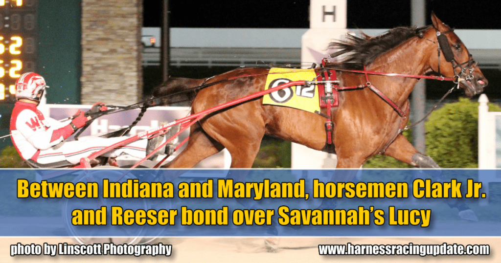 Between Indiana and Maryland, horsemen Clark Jr. and Reeser bond over Savannah's Lucy