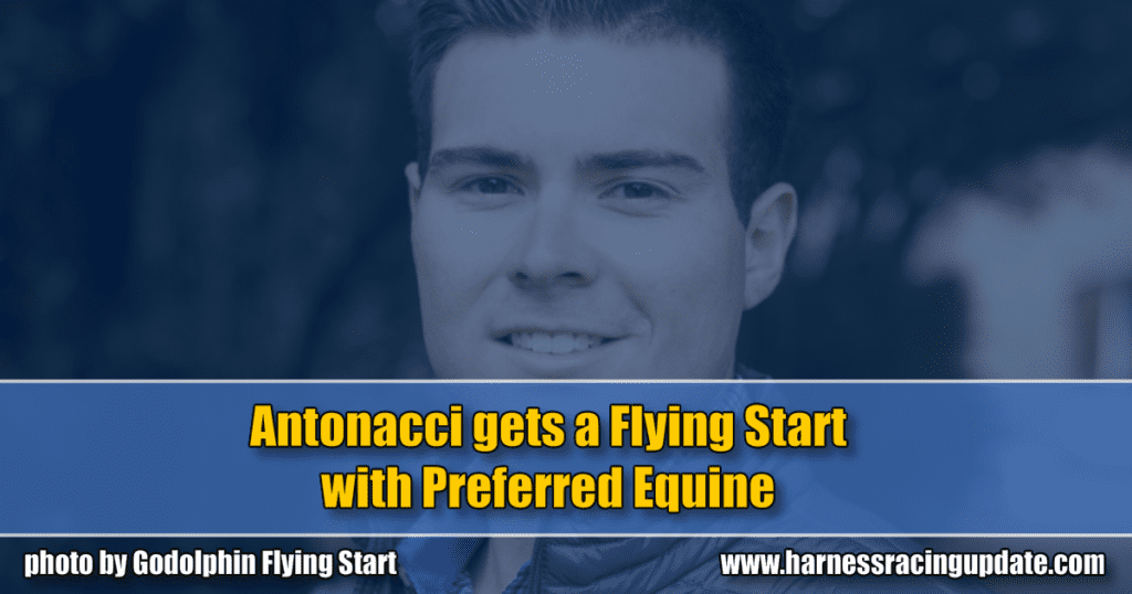 Antonacci gets a Flying Start with Preferred Equine