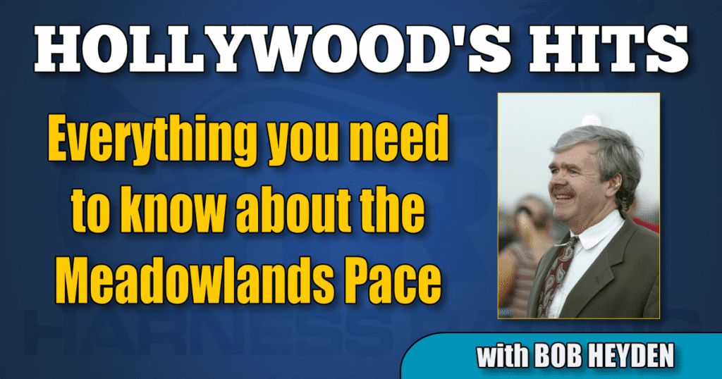 Everything you need to know about the Meadowlands Pace