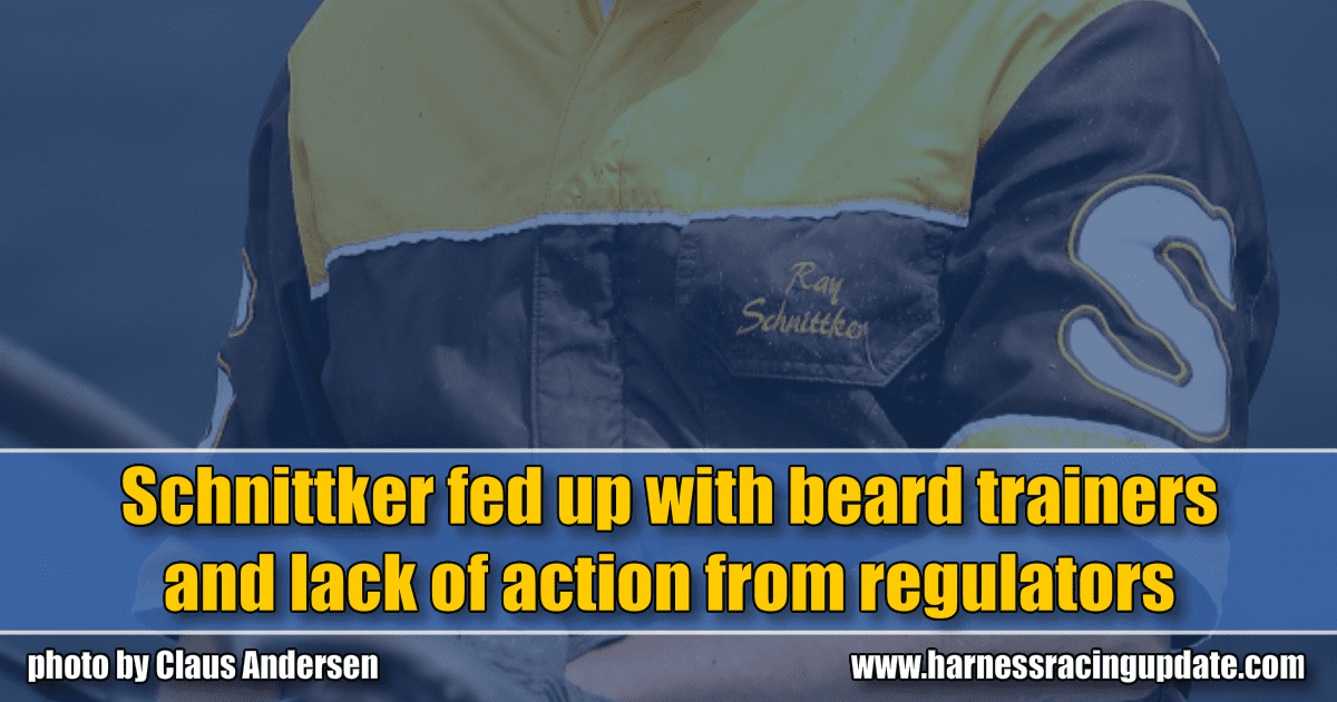 Schnittker fed up with beard trainers and lack of action from regulators