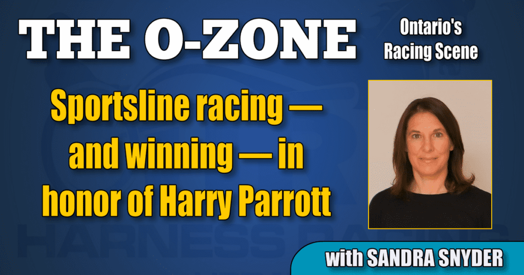Sportsline racing — and winning — in honor of Harry Parrott