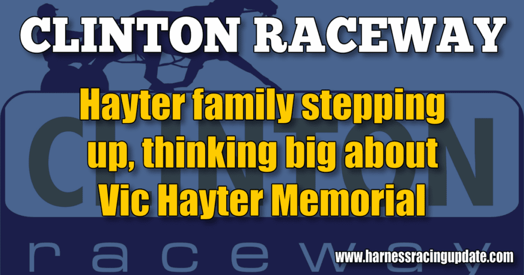 Hayter family stepping up, thinking big about Vic Hayter Memorial