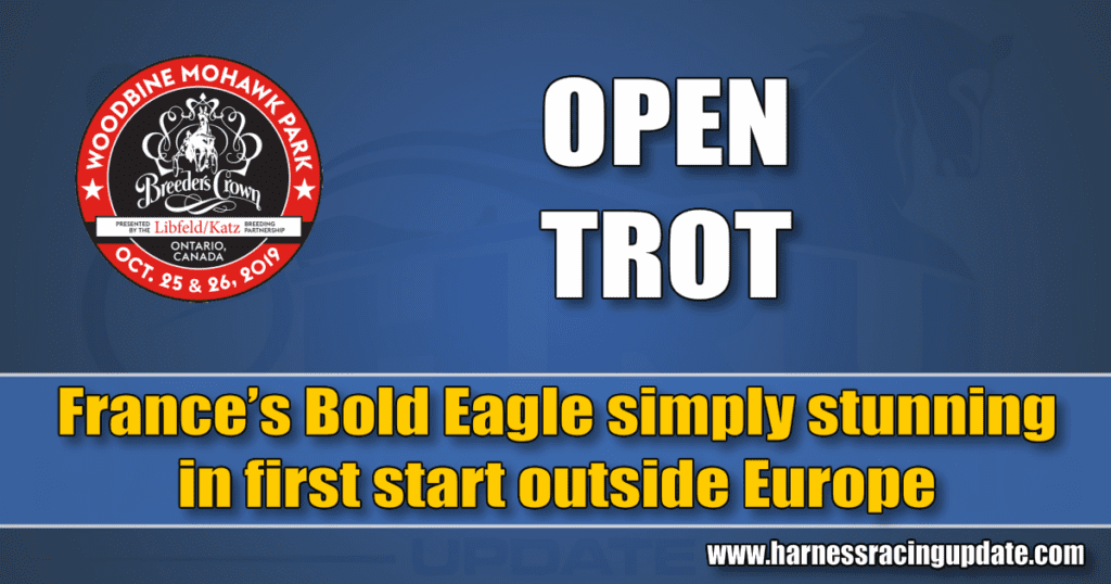 France's Bold Eagle simply stunning in first start outside Europe