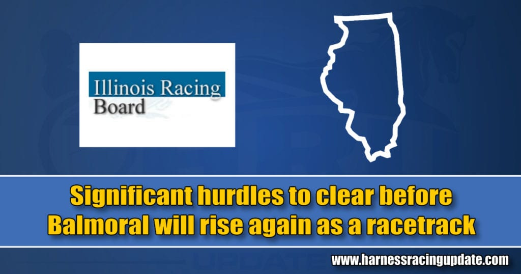Significant hurdles to clear before Balmoral will rise again as a racetrack