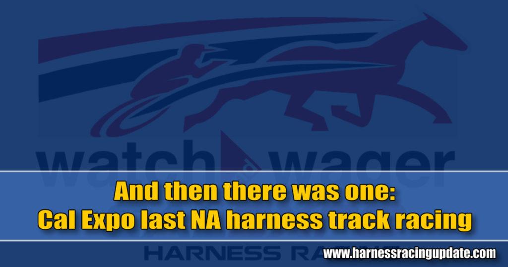 Cal Expo last NA harness track racing