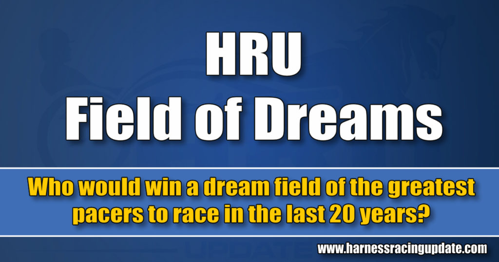 Who would win a dream field of the greatest pacers to race in the last 20 years?