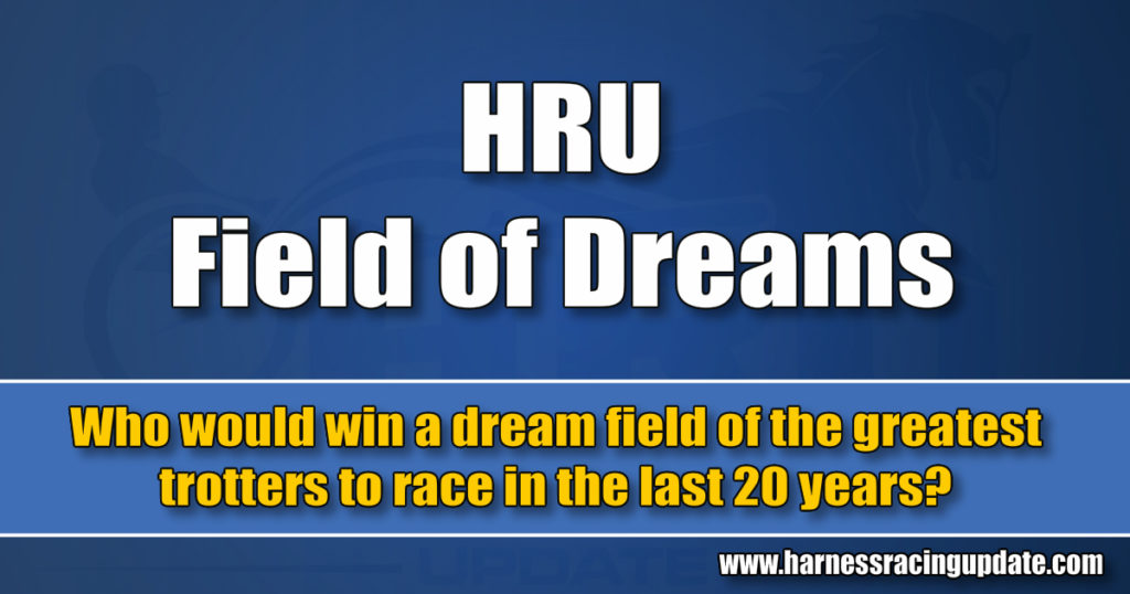 Who would win a dream field of the greatest trotters to race in the last 20 years?