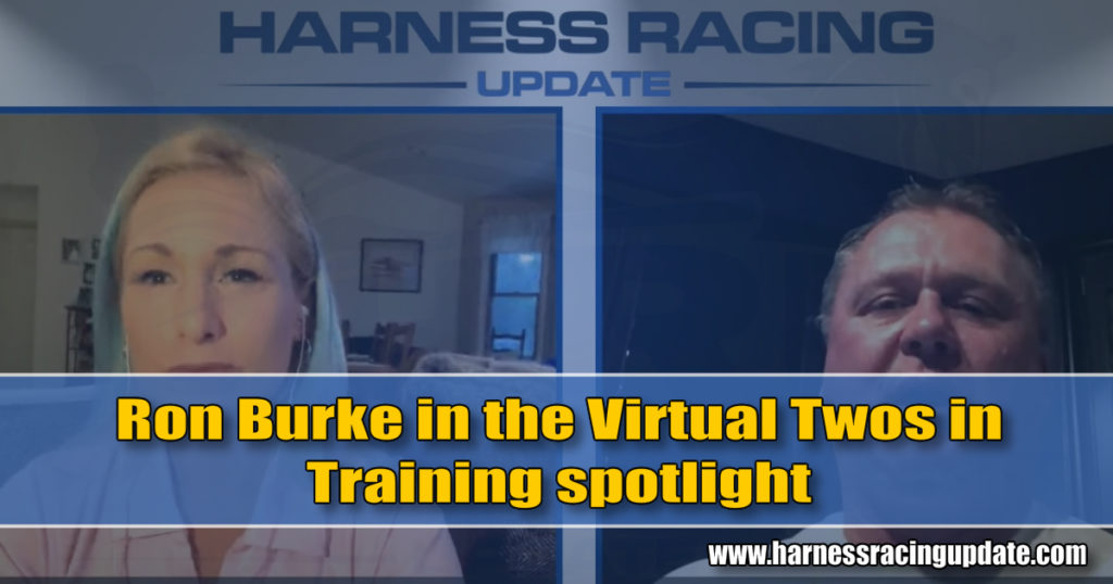 Ron Burke in the Virtual Twos in Training spotlight