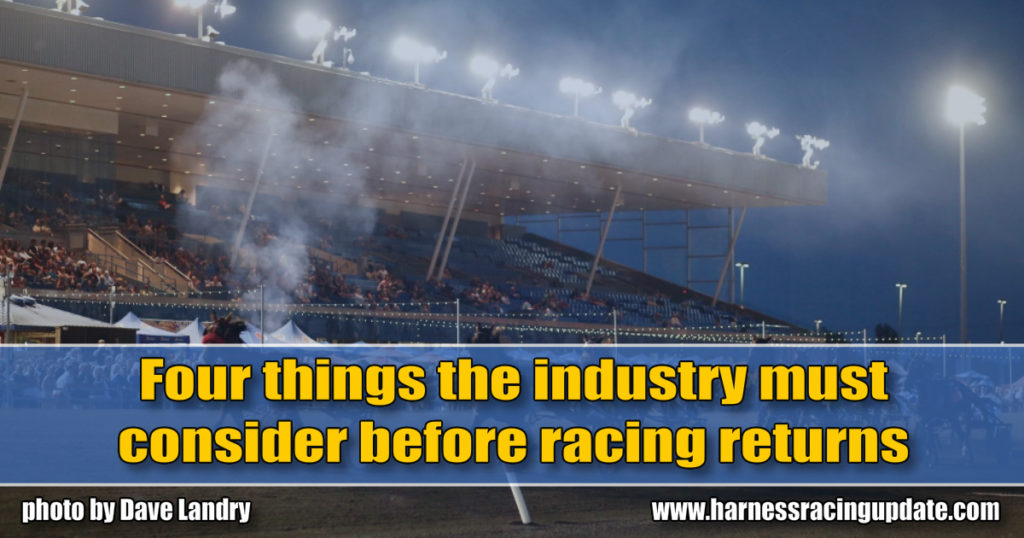 Four things the industry must consider before racing returns