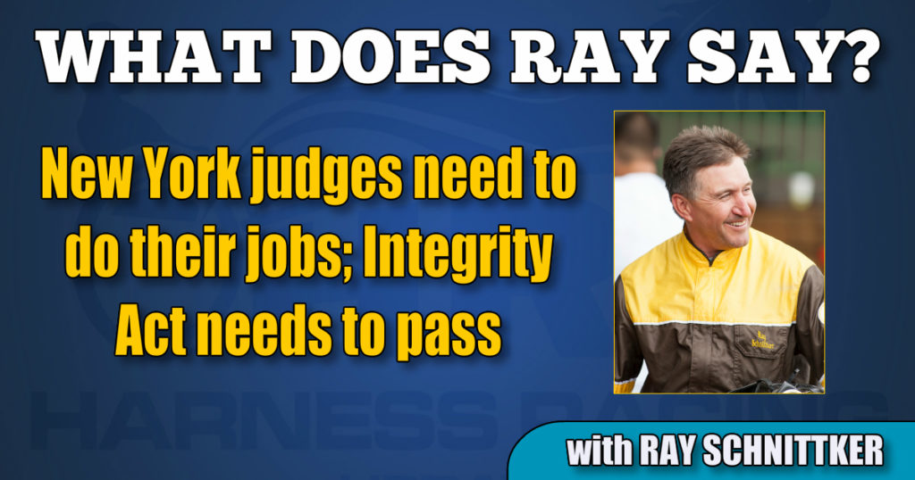New York judges need to do their jobs; Integrity Act needs to pass