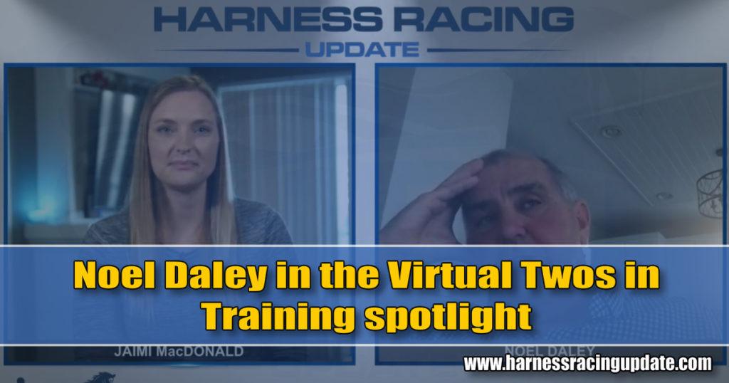 Noel Daley in the HRU Twos in Training spotlight