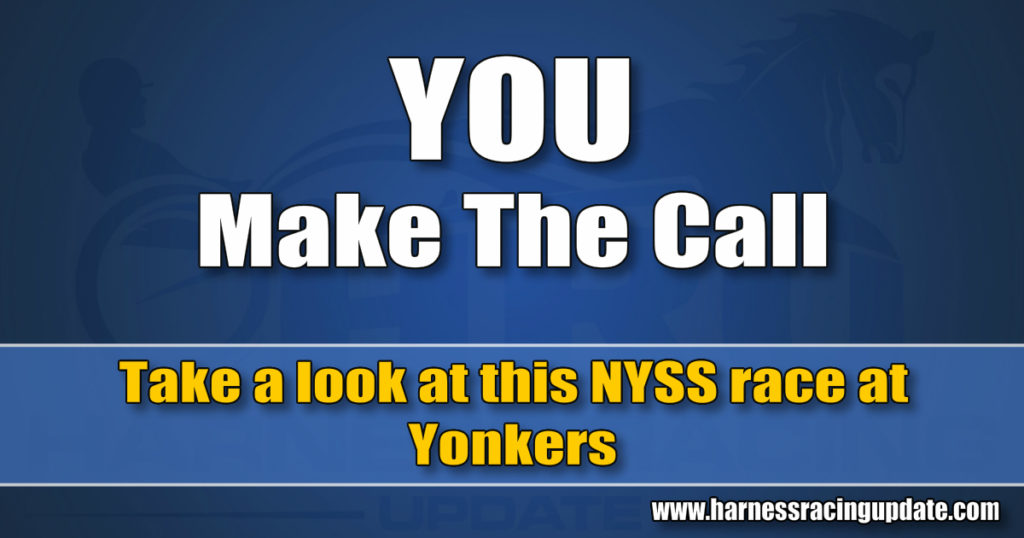 Take a look at this NYSS race at Yonkers