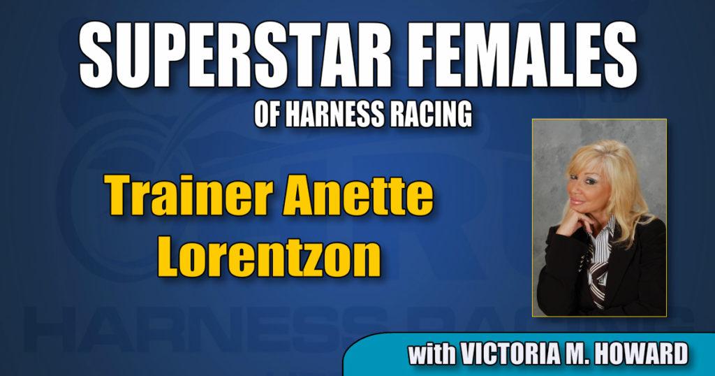 Trainer Anette Lorentzon