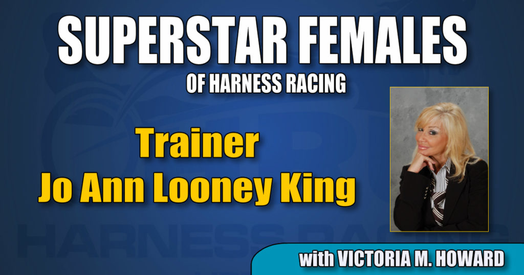 Trainer Jo Ann Looney King