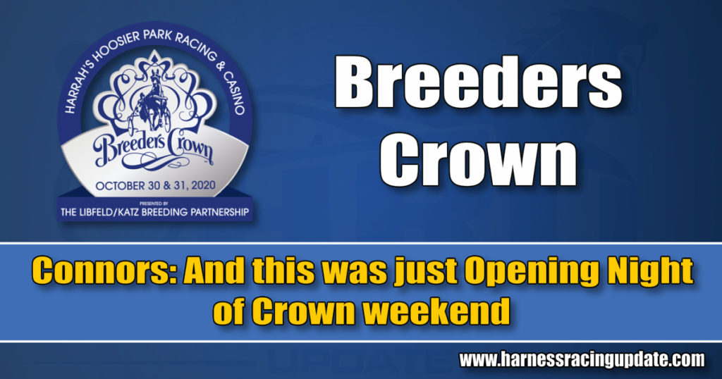 And this was just Opening Night of Crown weekend