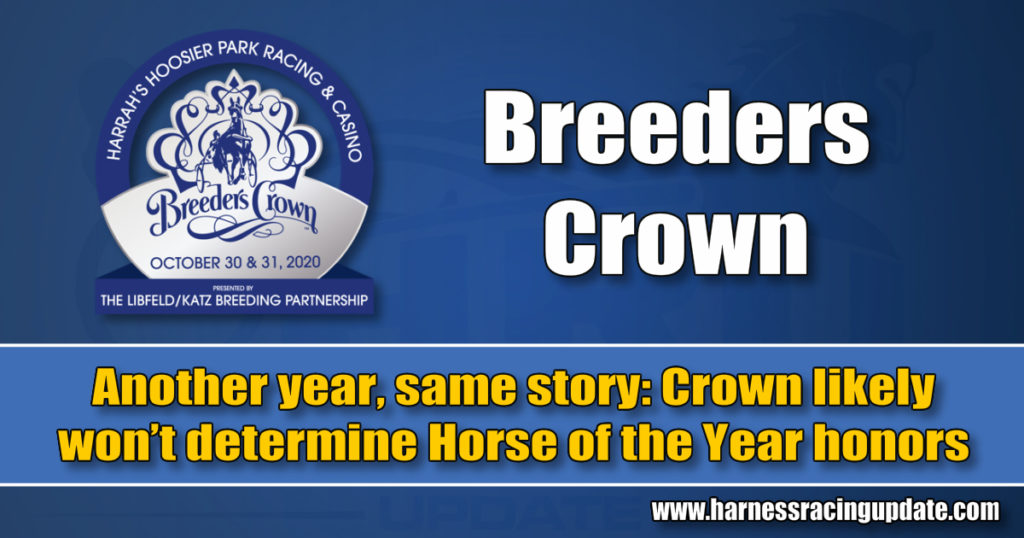 Another year, same story: Crown likely won't determine Horse of the Year honors