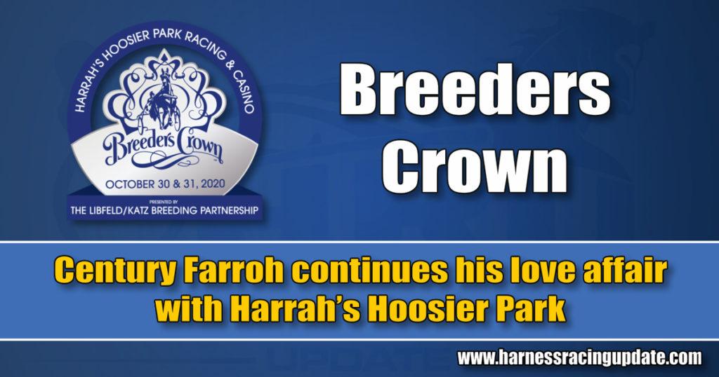 Century Farroh continues his love affair with Harrah's Hoosier Park