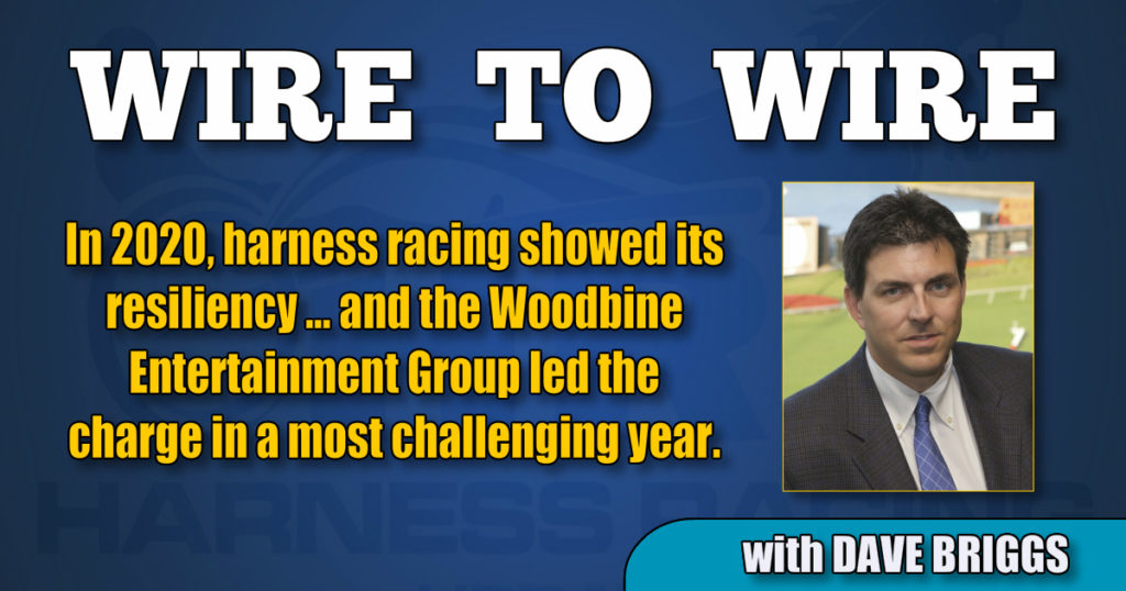 In 2020, harness racing showed its resiliency…