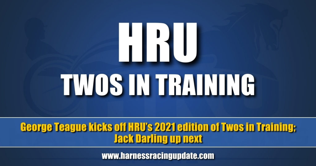 George Teague kicks off HRU's 2021 edition of Twos in Training; Jack Darling up next