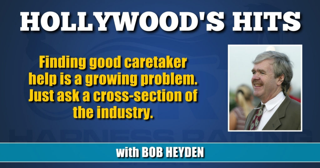 Finding good caretaker help is a growing problem. Just ask a cross-section of the industry.