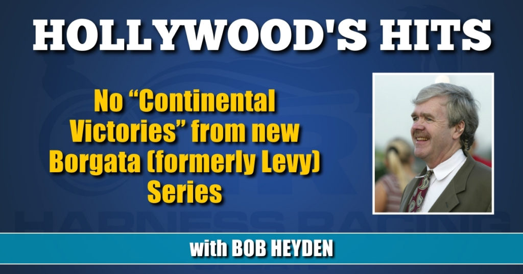 """No """"Continental Victories"""" from new Borgata (formerly Levy) Series"""