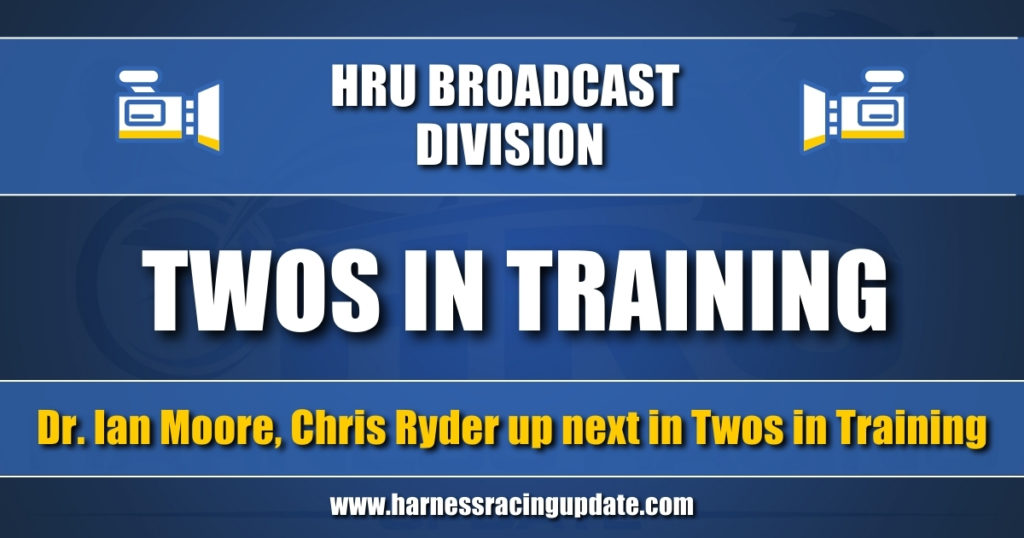 Dr. Ian Moore, Chris Ryder up next in Twos in Training