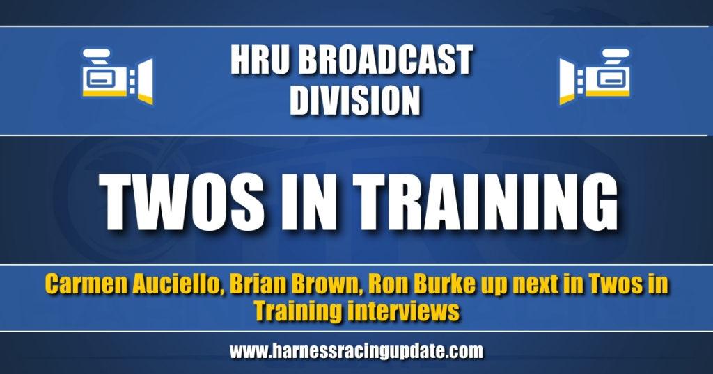 Carmen Auciello, Brian Brown, Ron Burke up next in Twos in Training interviews