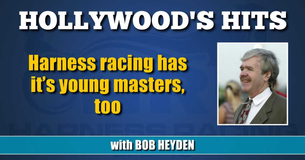 Harness racing has it's young masters, too