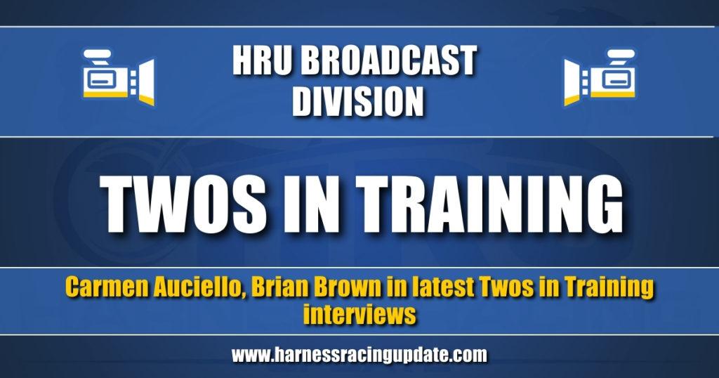 Carmen Auciello, Brian Brown in latest Twos in Training interviews