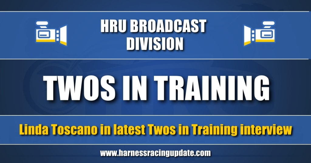 Linda Toscano in latest Twos in Training interview