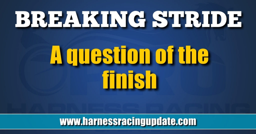 A question of the finish
